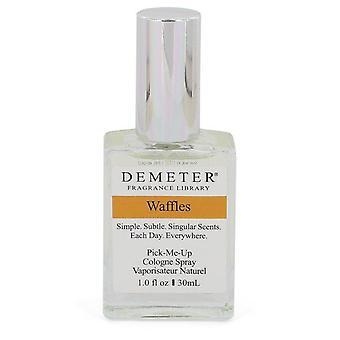 Demeter Waffles Cologne Spray (sin caja) Por Demeter 1 oz Cologne Spray