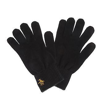 Accessories Original Penguin Basic Logo Glove in Black