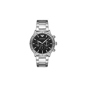 Armani Watches Ar11241 Black And Stainless Mens Watch