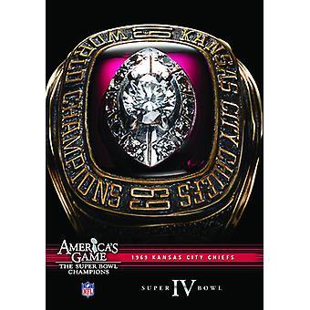 NFL America's Game: 1969 Chiefs (Super Bowl IV) [DVD] USA import