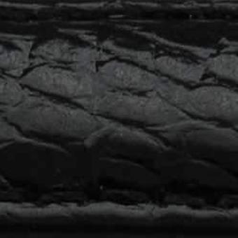 Despliegue de correa de reloj de lagarto genuino para cartier 15mm negro o rosa