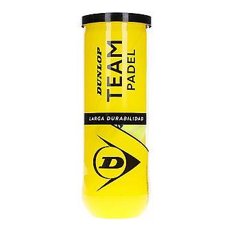 Dunlop, 3x Paddelbälle - Team Padel