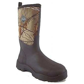 Muck Boots Unisex Real Tree Xtra Brown Derwent Ii All Purpose Field Wellington Waterproof Tall Boots