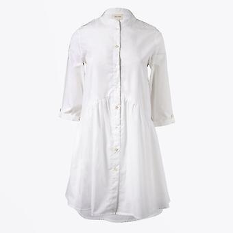 Dream  - Skater Shirt Dress - White