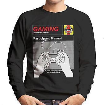 Haynes Gaming Participante Manual Hombres's Sudadera