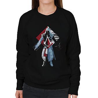 Assassins Creed Deconstruct Ezio Women's Sweatshirt