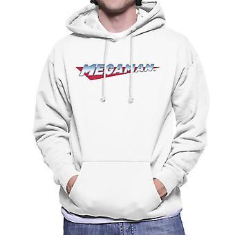 Mega Man Retro Logo Men's Hooded Sweatshirt