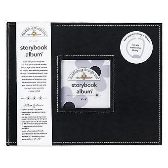 Doodlebug Diseño Escarabajo Negro 8x8 Pulgadas Storybook Album