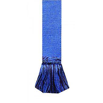 House of Cheviot Garter Ties Garter Ties ~ Bluebell & Burgundy