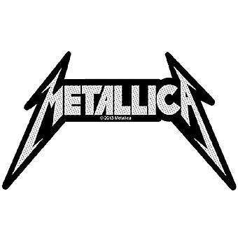 Metallica Patch klassiske Spiked bandets logo offisielle nye svart kutte ut
