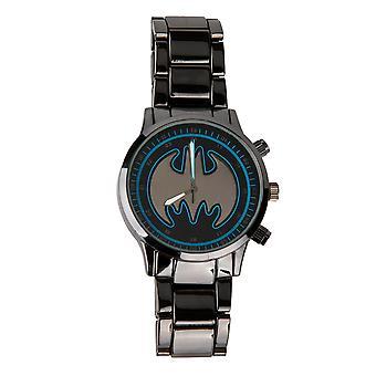 Batman Black Stainless Steel Watch