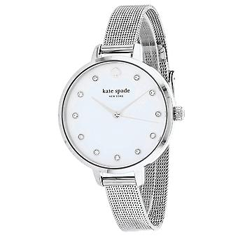 195, Kate Spade Femmes 's KSW1490 Quartz Silver Watch