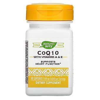 Nature-apos;s Way, CoQ10, 100 mg, 30 Softgels