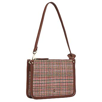 Joules Donna Fulbrook Underarm Borsa in Tweed