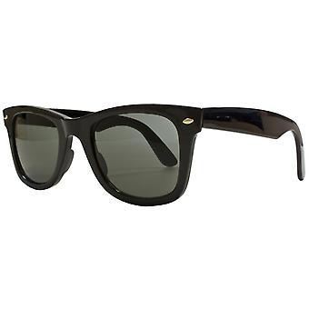 نظارات شمسية Unisex Cat.3 دخان أسود / أخضر (AMU19208 D)