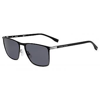 نظارات شمسية الرجال 1004/SO6W/IR الرجال الأسود / رمادي