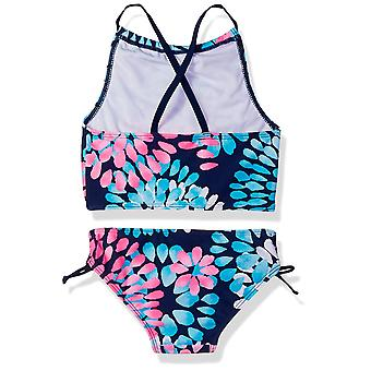 Kanu Surf Big Girls' Daisy Beach Sport Halter Tankini 2-Piece Swimsuit, Navy,...