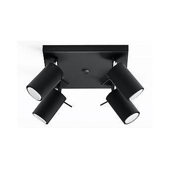 Plafond Ring 4 Black