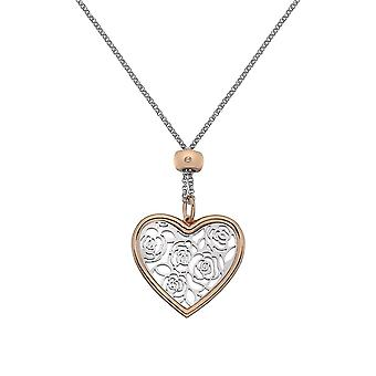 Hot Diamonds Faith stort hjerte anheng DP655
