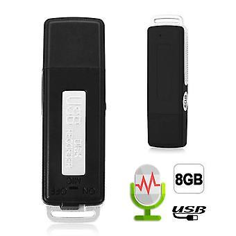 Mini USB Aufnahme Stift Flash Drive Disk, Digital Audio Voice Recorder 70 Stunden