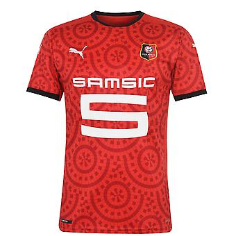 Puma Mens Stade Rennais Home Shirt 2020 2021 Jersey Top Sport T-shirt