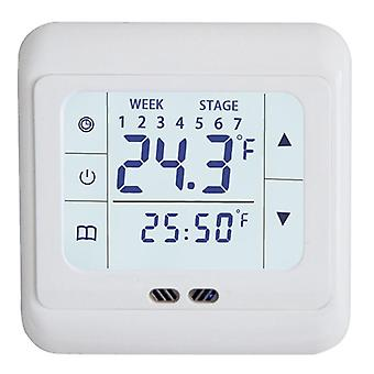 Digital Floor Thermostat Touch Screen Ac 220v Floor Heating Room Thermostat For Home