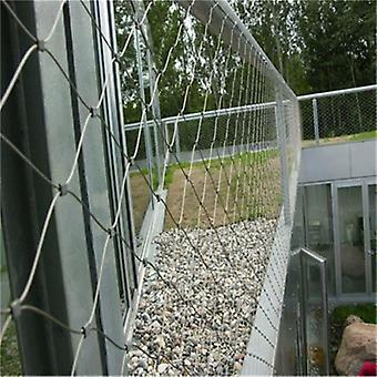 Stainless Steel Wire Cable Mesh For Stair Bridge Balustrade And Railing