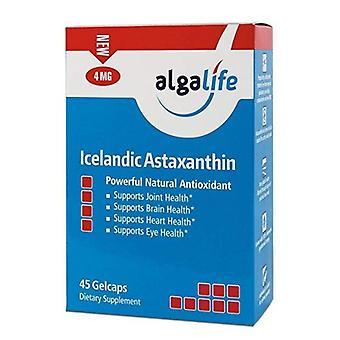 Algalife Islandais Astaxanthine, 4 mg, 45 Caps