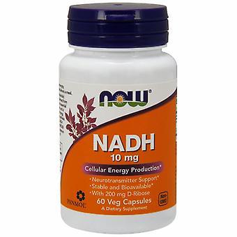 Jetzt Lebensmittel NADH mit Ribose, 10 mg, 60 Vcaps