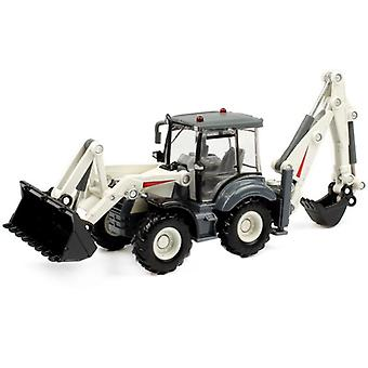 Diecast Excavator, 4-wheel Shovel Loaders, Two-way Forklift Bulldozer, Back Hoe