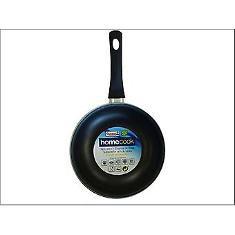 Home Cook Non-Stick Frying Pan Enamel Steel 20cm Cream HH0145