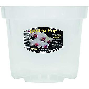 Growth Technology Clear Orchid Pot 19cm - 1