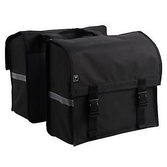 7-series Double bike bag 34 L Black