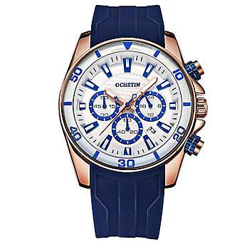 OCHSTIN GQ094 Bussiness Style Male Wristwatch Auto Date Stopwatch Military
