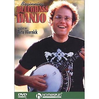 Partir de importación de Estados Unidos Bluegrass Banjo [DVD]