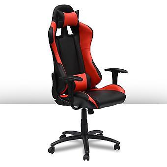 Ocazi Gamestoel - Gaming Stoel - Gaming Chair  - Bureaustoel - Instelbare Zithoogte - Rood - New York