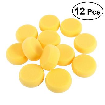 Round Synthetic Watercolor Artist Sponges For Painting Crafts Pottery