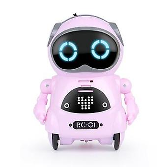 Rc Robot Pocket Intelligent Interactive Talking, Voice Recognition, Record,