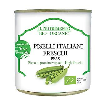 Natural fresh Italian peas - three-piece pack 3 units