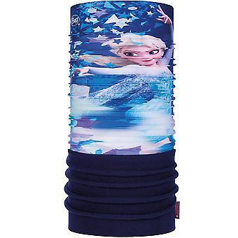 Buff Kids Elsa Polar Outdoor Winter Warm Tubular Bandana Snood Scarf - Blue