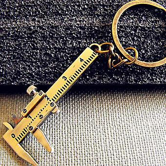 Mini Vernier Caliper Key Ring, Car Styling Accessories