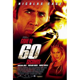 Gone in 60 Seconds Movie Poster Print (27 x 40)