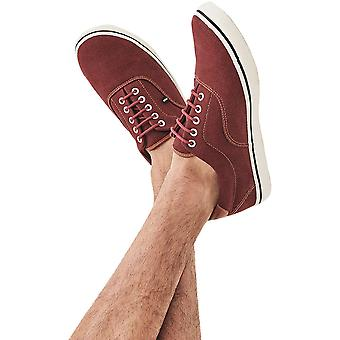 Crew Clothing Mens Padstow Cotton Canvas Casual Trainers