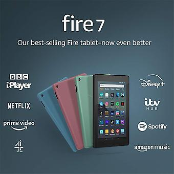 "Fire 7 tablet | 7"" display, 32 gb, sage with special offers"