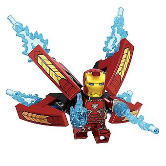 Marvel Avengers Minifigure Blocks Iron Man Spider-man Thanos Hulk Toy
