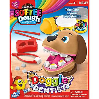 Craz-art softee dough doggie dentist