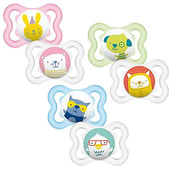 Mam air soother 0m+ 2pk each pack sold separately