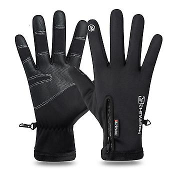 Outdoor Sports Running Glove, Warm Touch Screen Full Finger Gloves