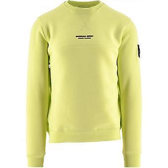 Marshall Artist Green Siren Crewneck 121 Sweatshirt