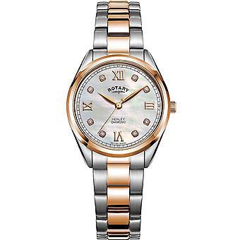 Ladies Watch Rotary LB05112/41/D, Quartz, 30mm, 5ATM